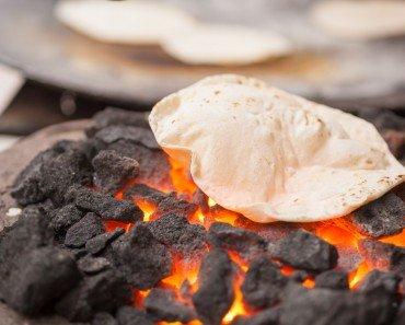 Chapati on Coal
