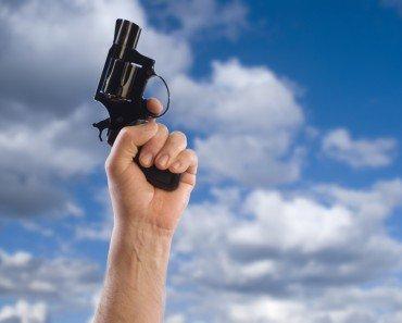 Gun Fire in Air