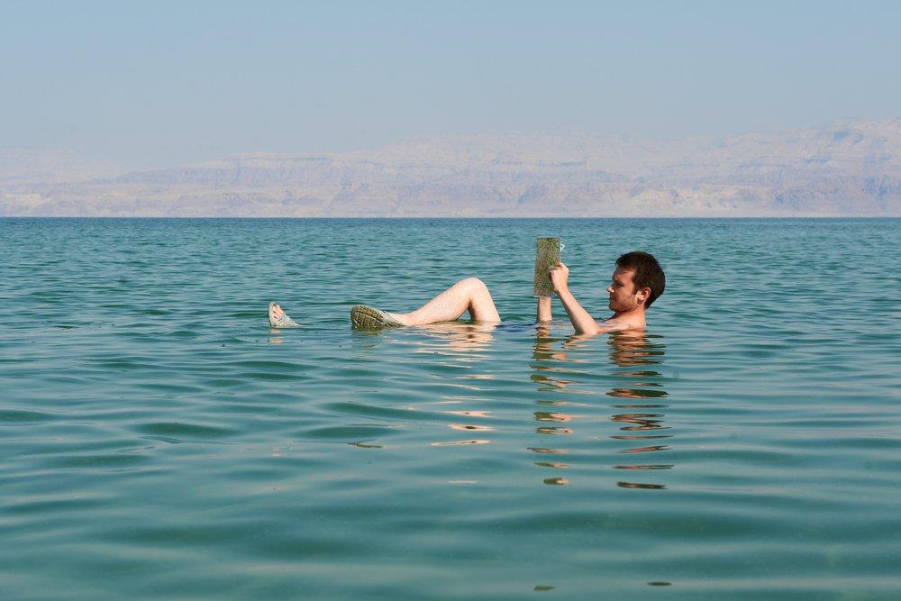 Dead Sea Lying