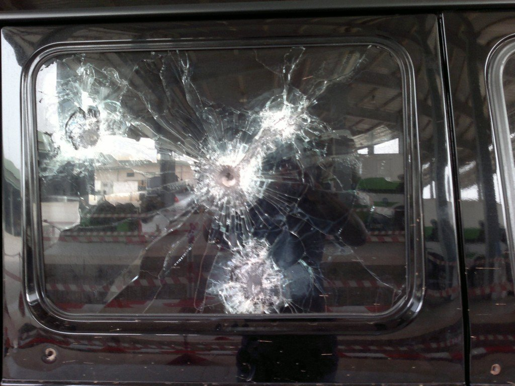 Bullet Proof Car >> Bullet Resistant Glass: How It Does What It Does? » Science ABC