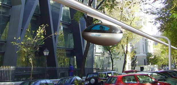 Ford Transit 150 >> Flying Pods And Floating Cities: How Magnetic Levitation