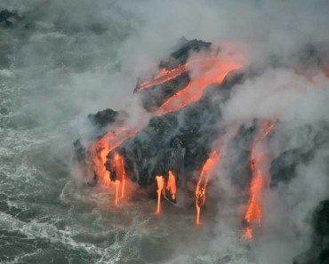 underwater volcano