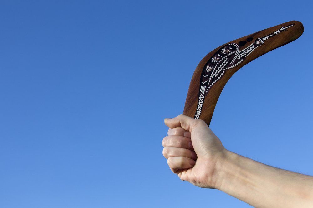how to make a boomerang come back to you