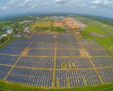 India's Cochin Airport: The World's First 100% Solar-Powered Airport