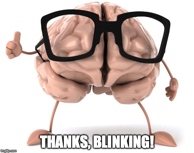 Brain with glasses Meme