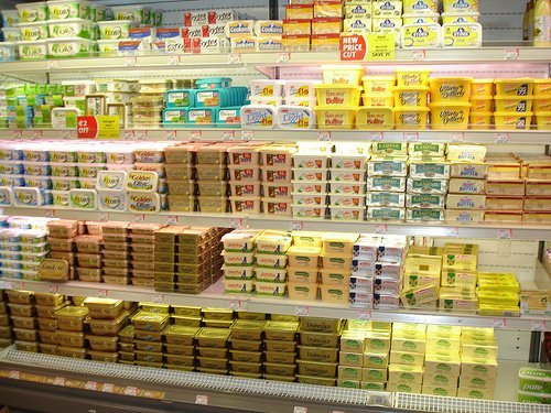 butter and margarine products