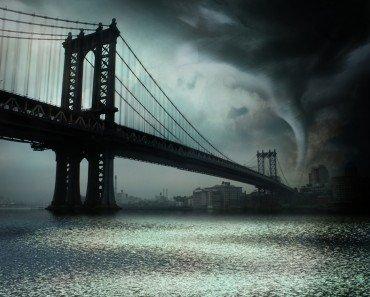 Tornado on River