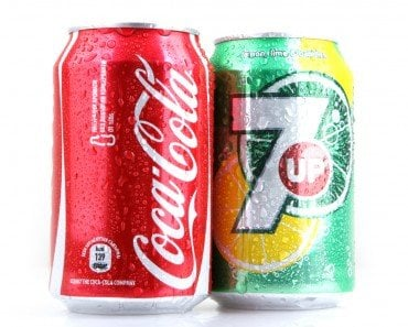 Coca Cola and 7 Up