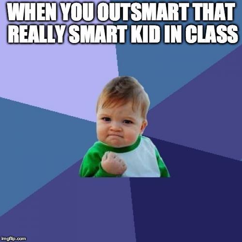 Smart Kid Meme