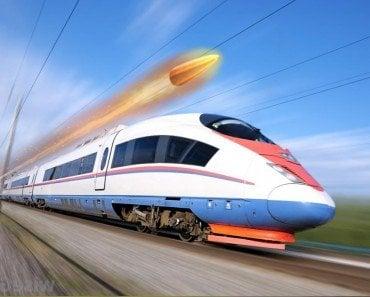 Bullet on trainTrain