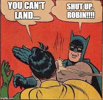 Proximity Flying- Batman meme