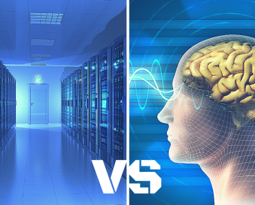 Brain VS Super Computer