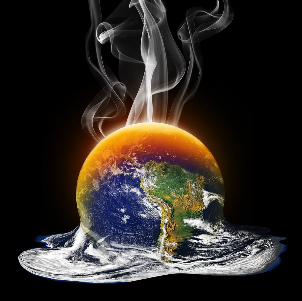 Melting Planet Image