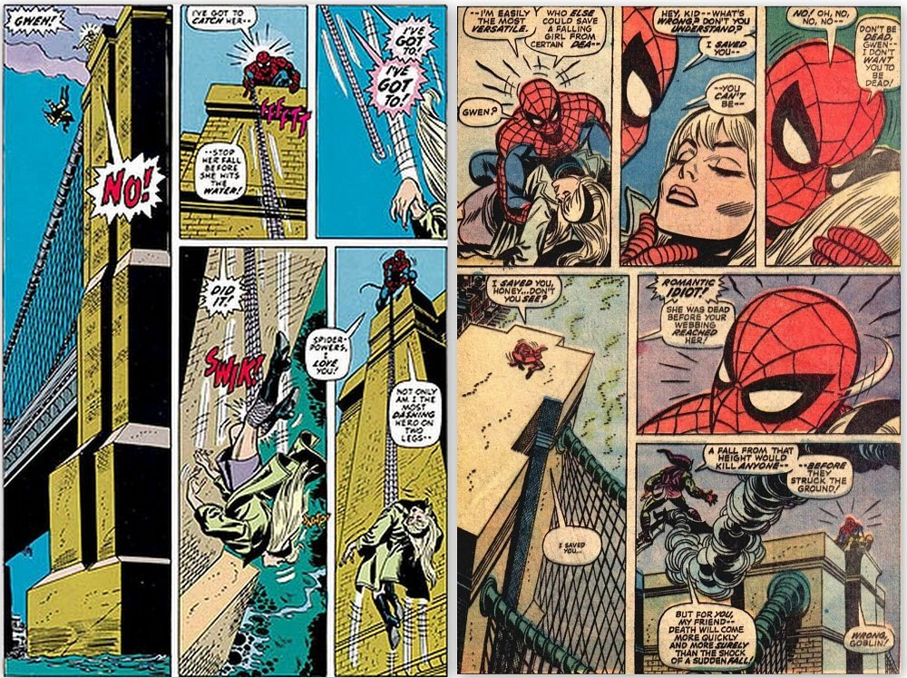 Gwen Stacy Death: What Really Happened? Could Spiderman Have Saved Her?