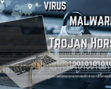 VIRUS trojan laptop computer