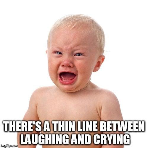 baby crying meme