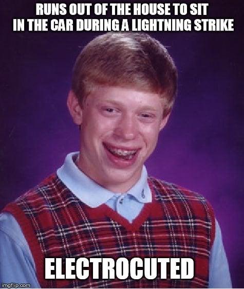electrocuted meme