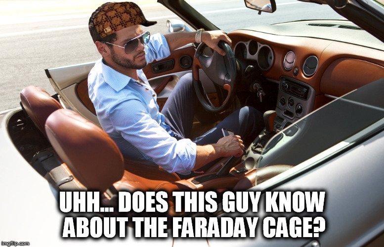 main in car meme