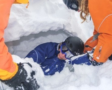 How Do You Rescue Someone Buried Under An Avalanche?