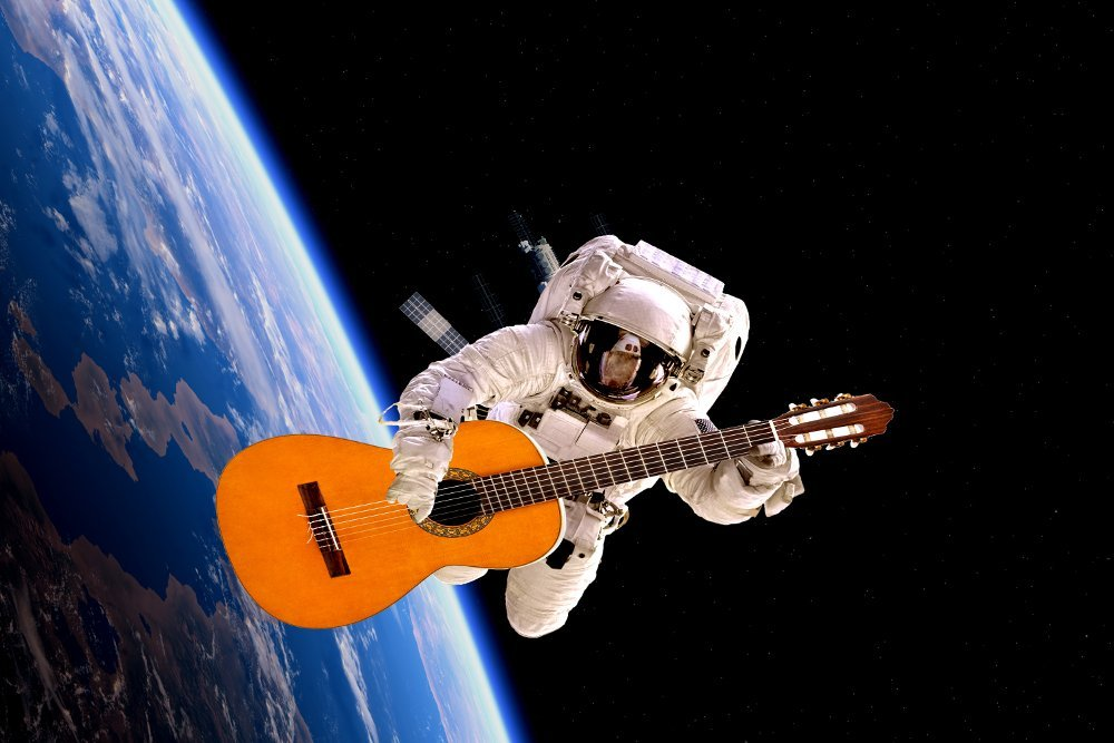 What Would Happen If You Played Guitar In Space? » Science ABC
