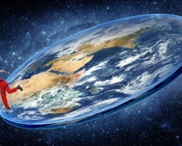 If Earth Were Flat, Would You Fall Off The Edge And Into Space?