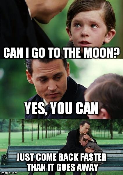 go to moon meme