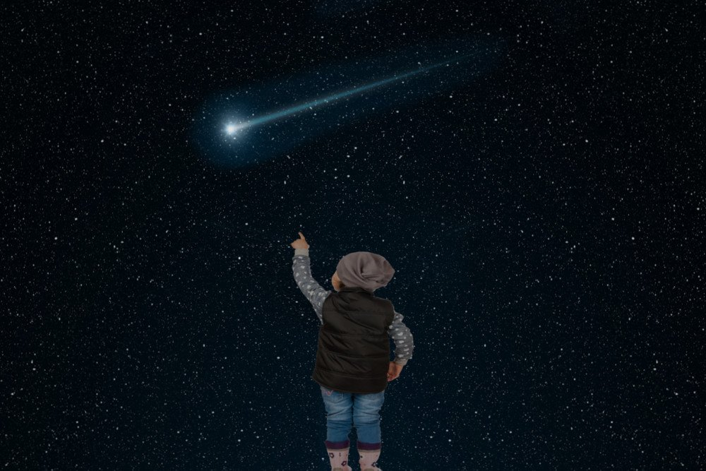 how can you maximize your chances of seeing a shooting star