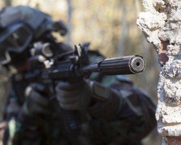 soldier gun silencer