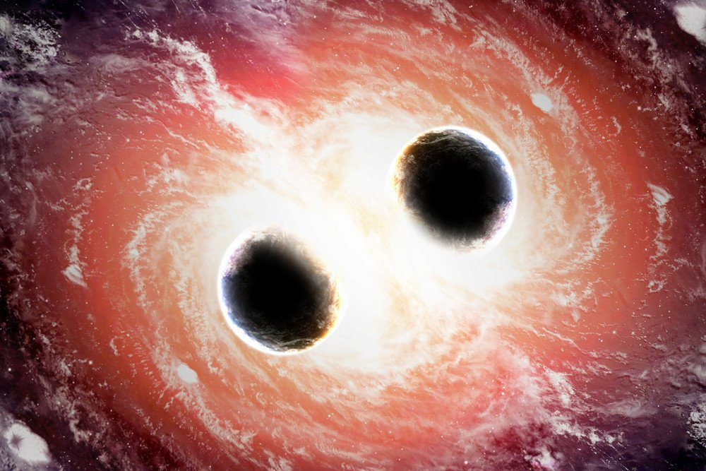 two black holes collide - photo #19