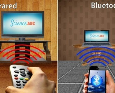 Bluetooth versus infrared