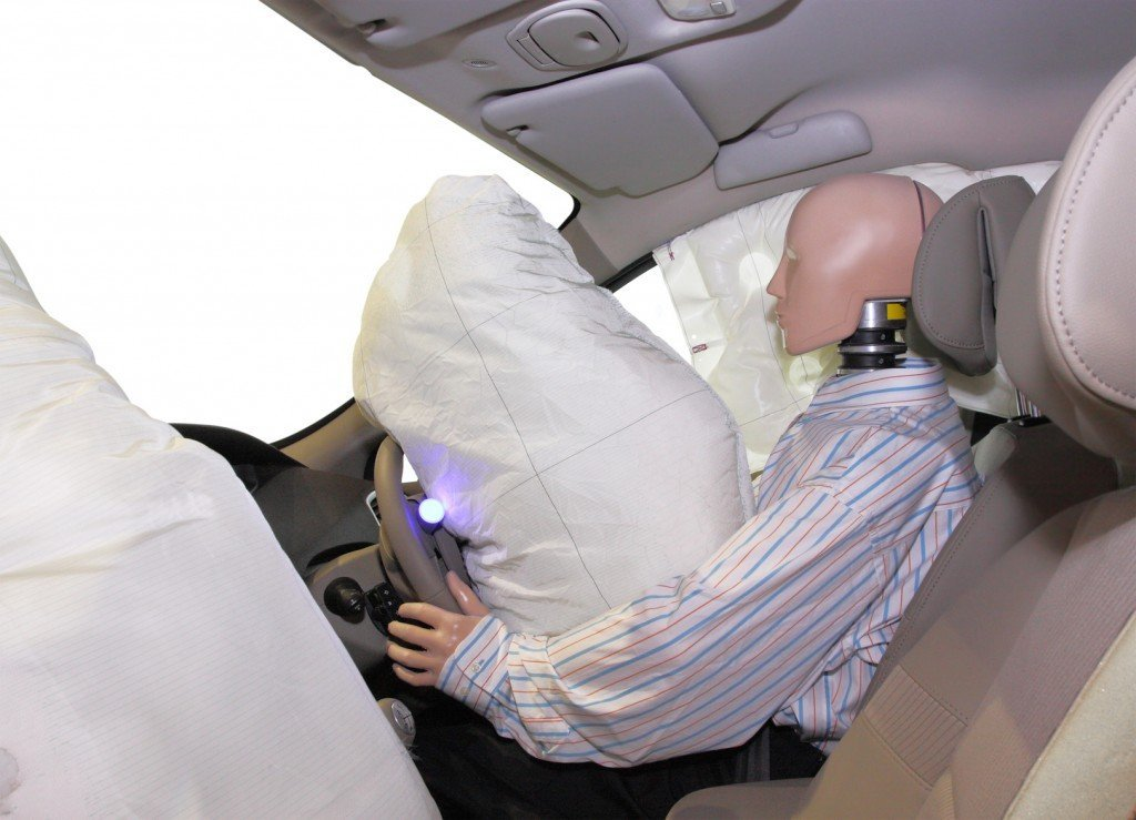 When Do Airbags Deploy In An Accident >> How Do Airbags Deploy So Fast In A Car Accident Science Abc