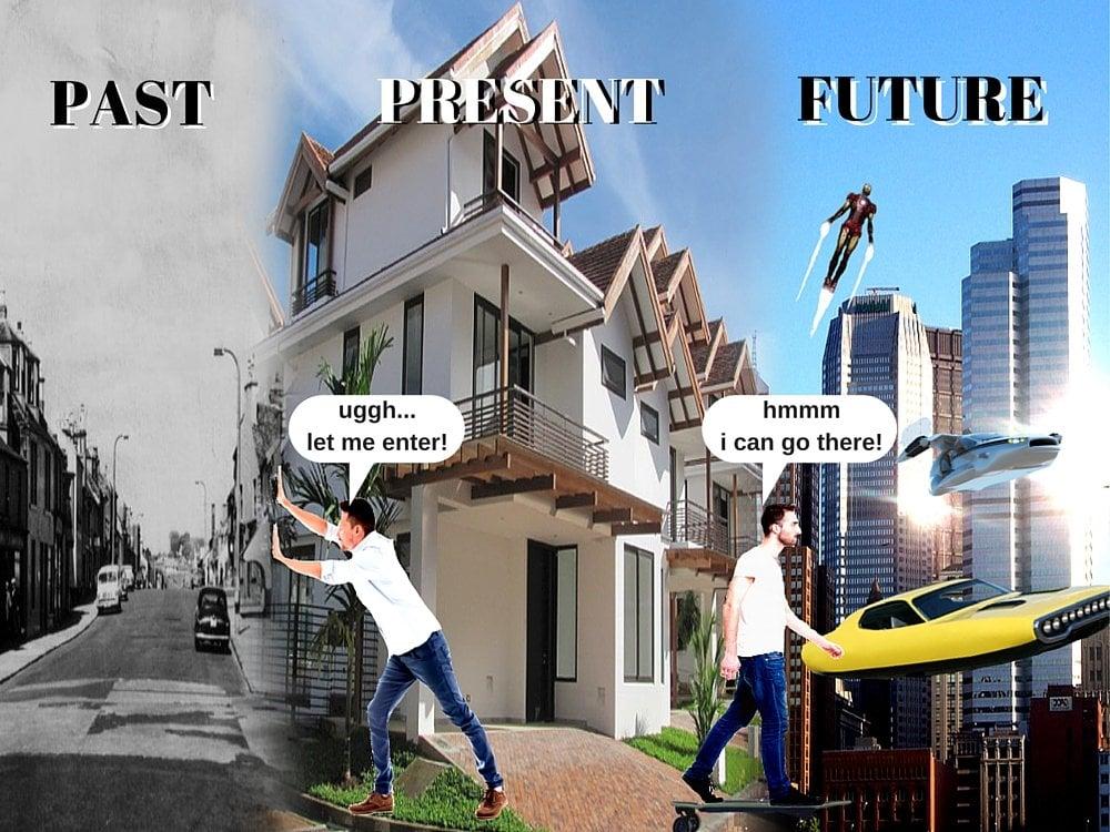Time Travel Future Vs Past