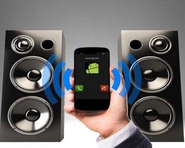 Ringing phone & loudspeaker