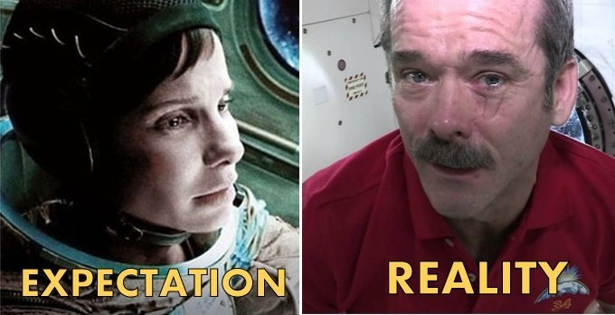 tears in space gravity movie versus reality