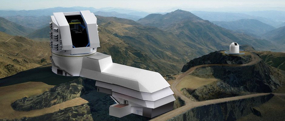 Large Synoptic Survey Telescope (Photo Credit: astronomynow.com)