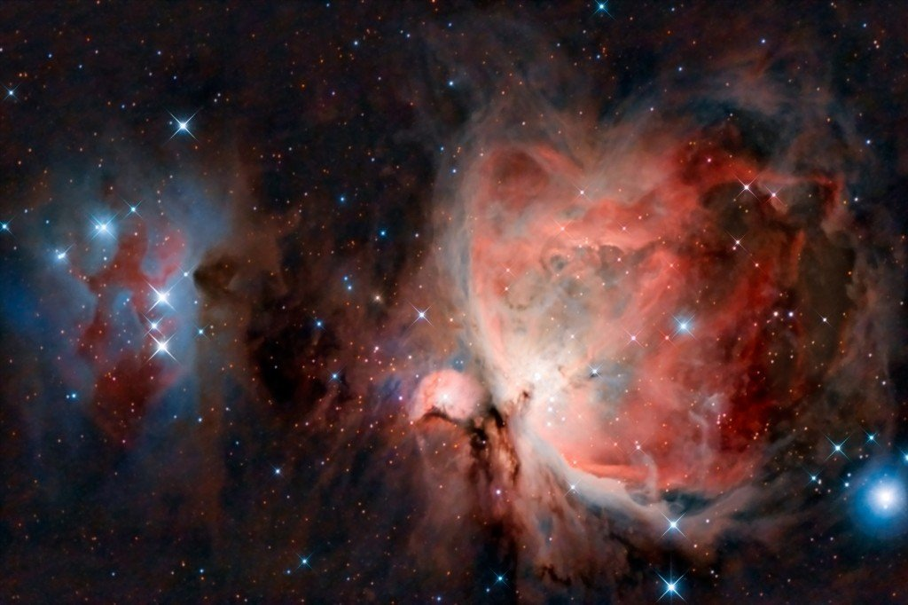 The Orion Nebula, one of our nearest star nurseries (Photo Credit: peresanz / Fotolia)