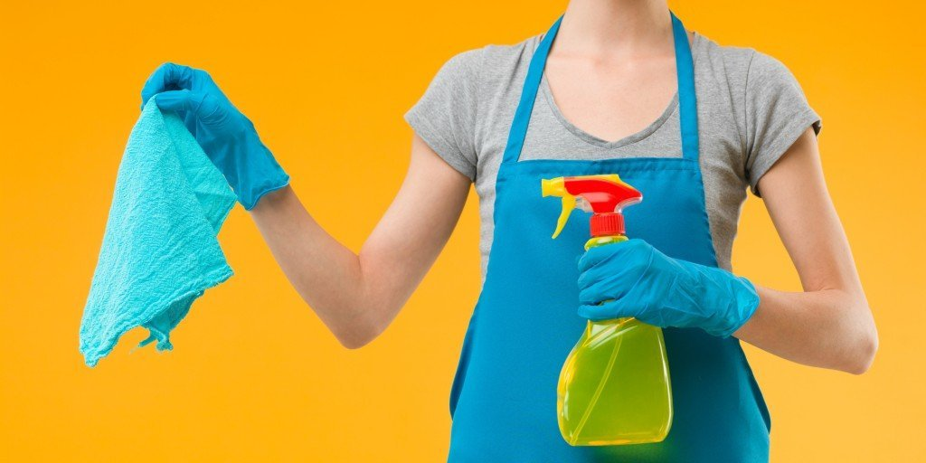 Cleaning is important, but a few germs won't kill you. (Photo Credit: shotsstudio / Fotolia)