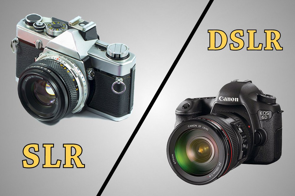 What's The Difference Between SLR and DSLR Cameras ...