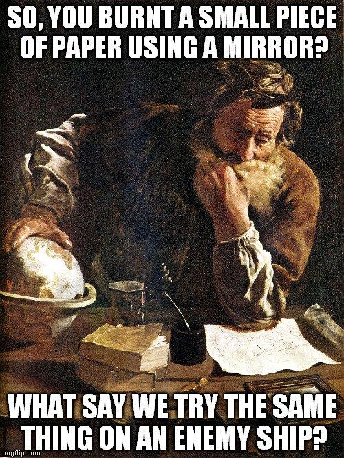 archimedes meme