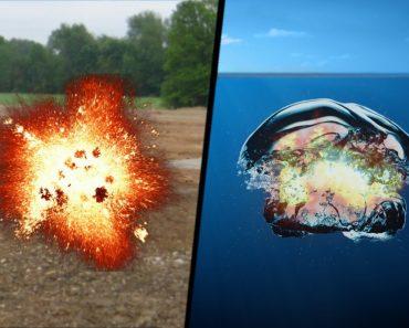 Bomb explosions