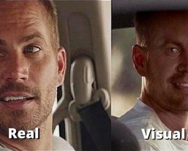 Paul walker CGI effect