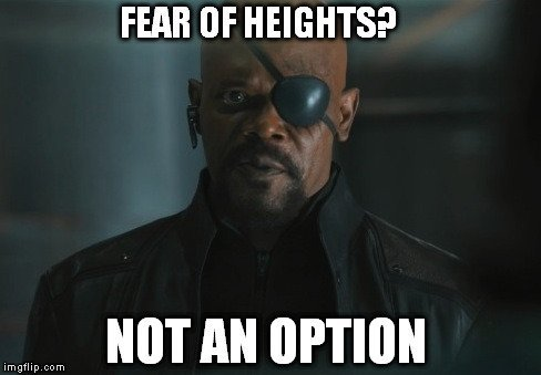 fear of heights not an option meme how do skyscraper windows get clean? science abc