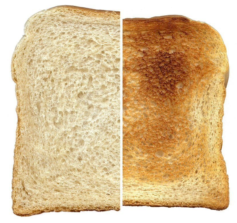 Toasted Bread Why Toasting Bread Makes It Golden Brown
