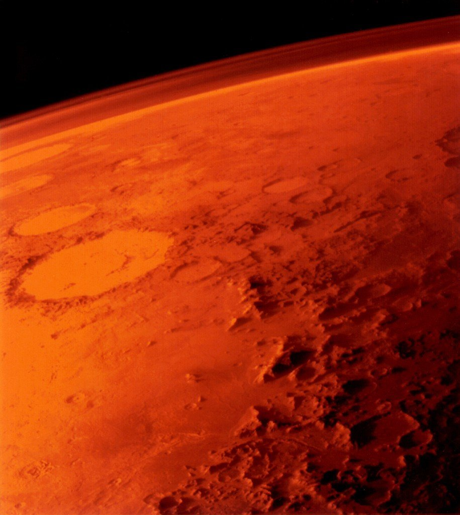 a research on the fourth planet from the sun mars The red planet mars is a small rocky body once thought to be very earthlike like the other terrestrial planets —mercury, venus, and earth—its surface has been changed by volcanism, impacts from other bodies, movements of its crust, and atmospheric effects such as dust storms.