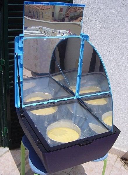 a solar cooker