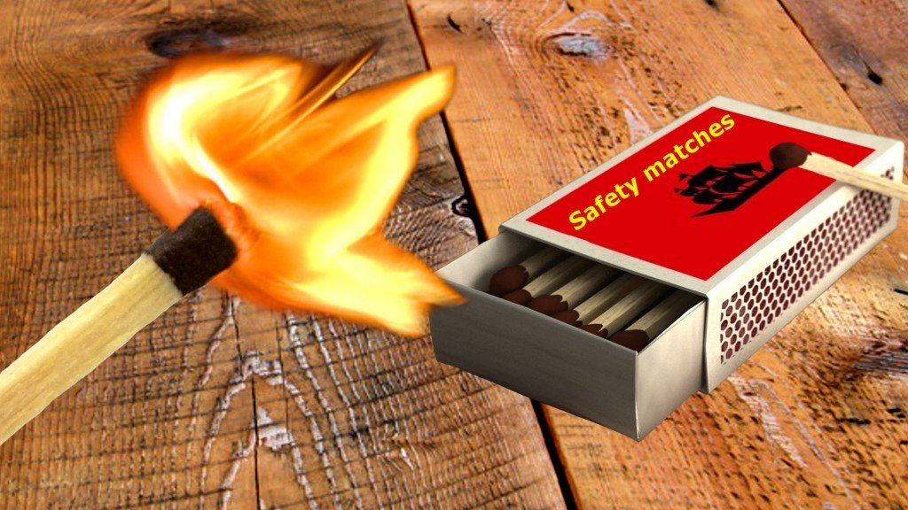 how do safety matches work science abc