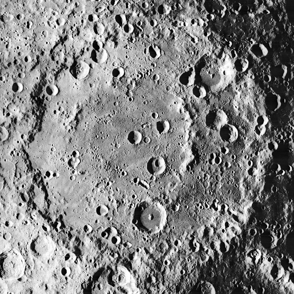 The dreadfully high number of visible craters on the moon s surface