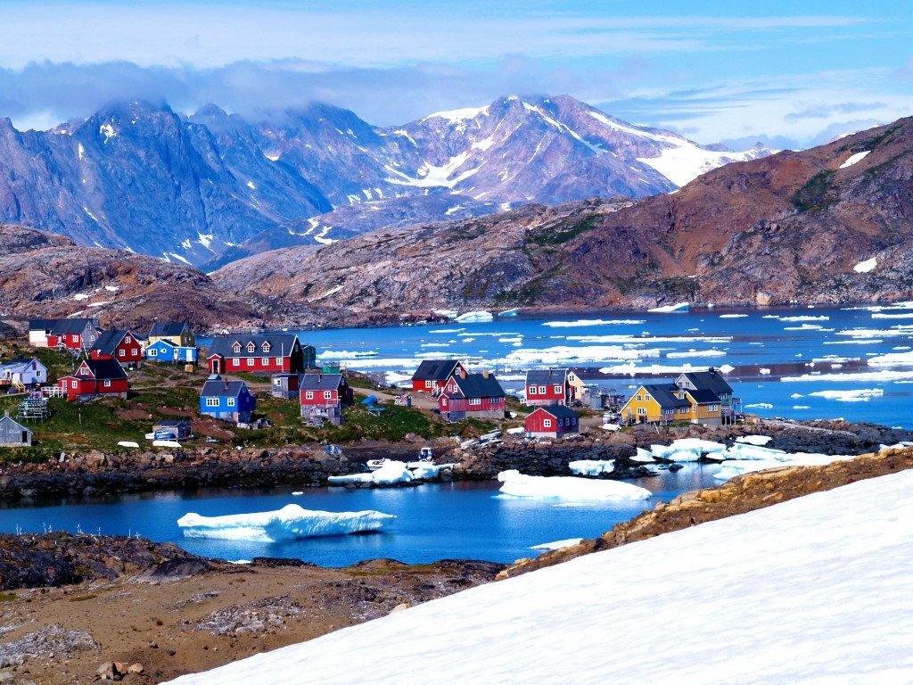 Kulusuk in Greenland Source: Wikipedia