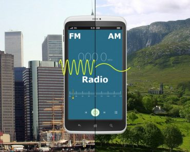 Mobile showing FM & AM