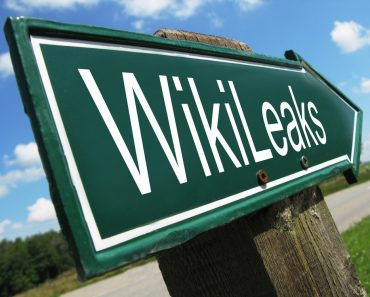 WikiLeaks road sign